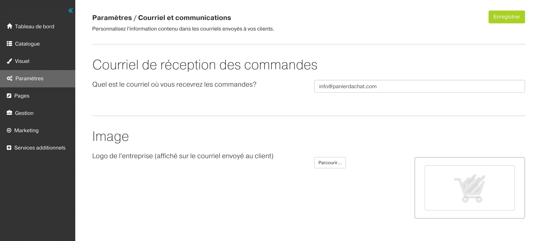 courriel-communications-panier-dachat